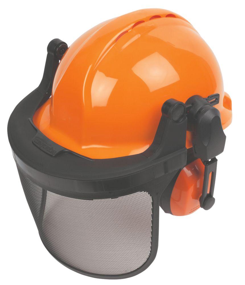 Kit de casque forestier ventilé Centurion Concept orange