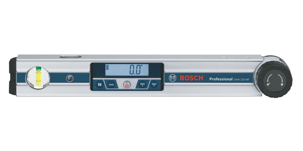Rapporteur d'angle numérique GAM220 MF Bosch