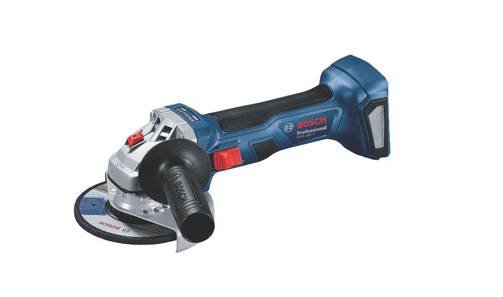 Meuleuse angulaire sans fil Bosch bleu GWS 18V-7 18V 125 mm - Sans batterie