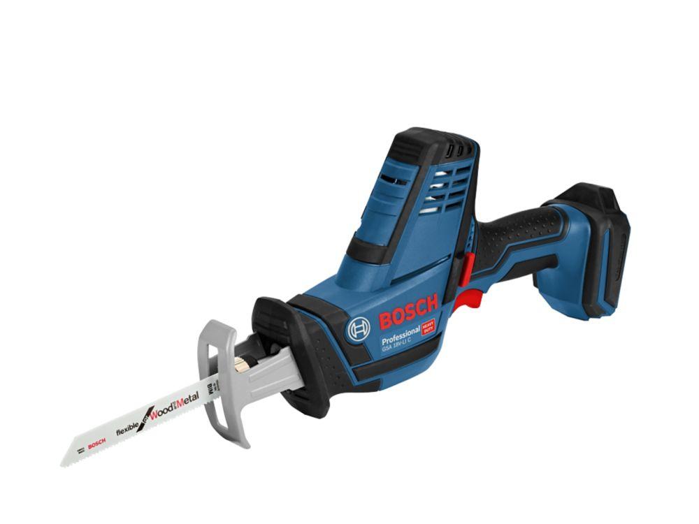 Scie sabre BoschBleu GSA18V (sans batterie)