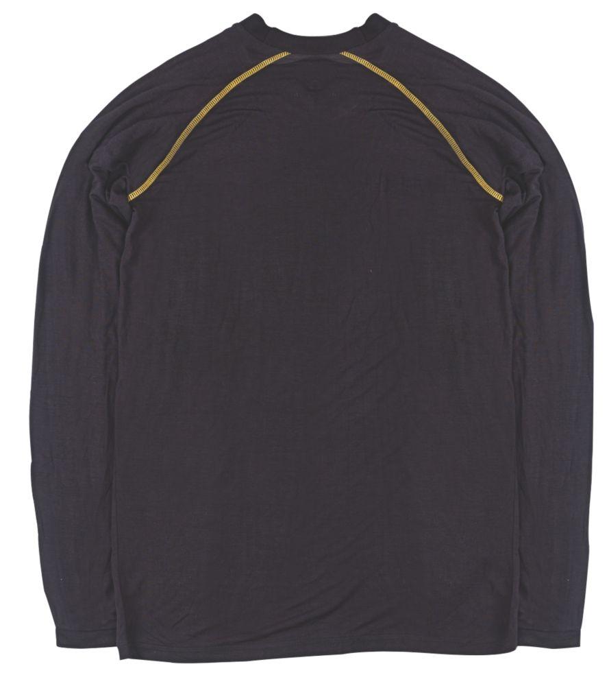 """T-shirt à manches longues Site Base Layer noir tailleL, tour de poitrine 44"""""""