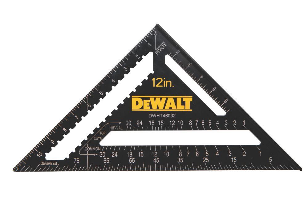 """Équerre de charpentier DeWalt Premium 12"""" (305mm)"""