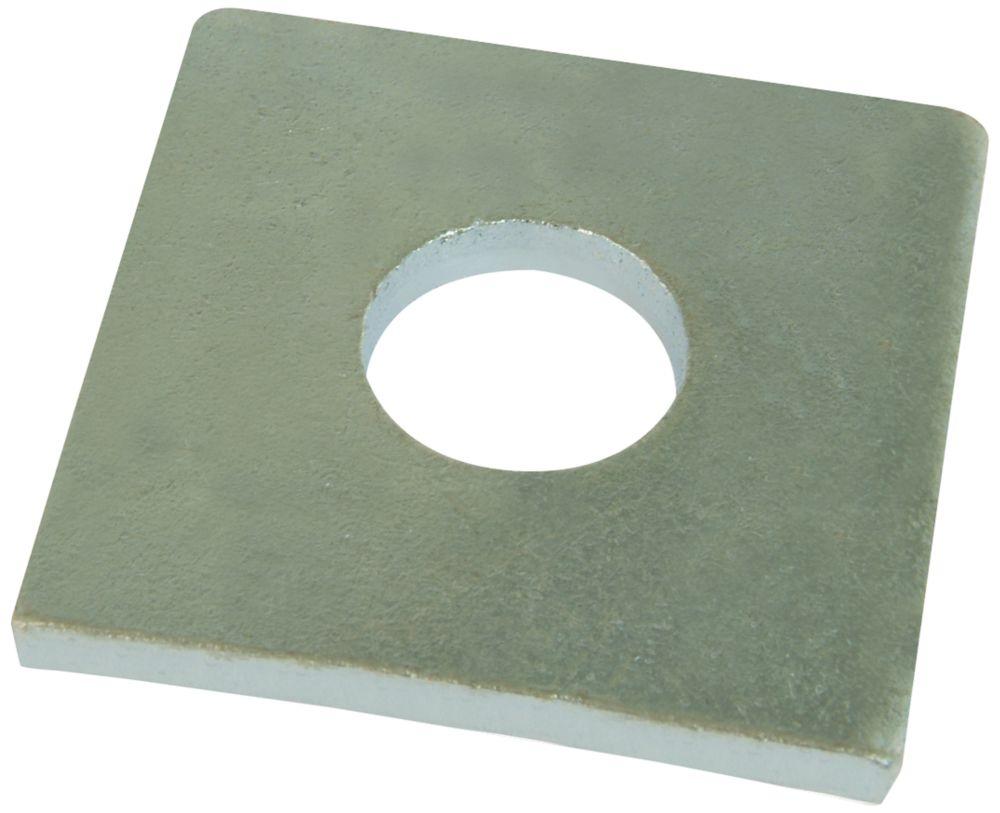 10rondelles carrées en acier Easyfix M16 x5mm