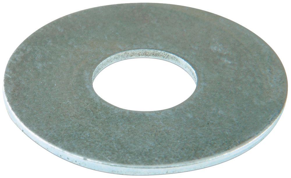 100rondelles plates larges en acier Easyfix M5 x1,2mm