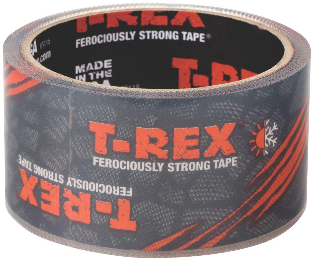 Ruban adhésif de réparation T-Rex transparent 8,2m x48mm