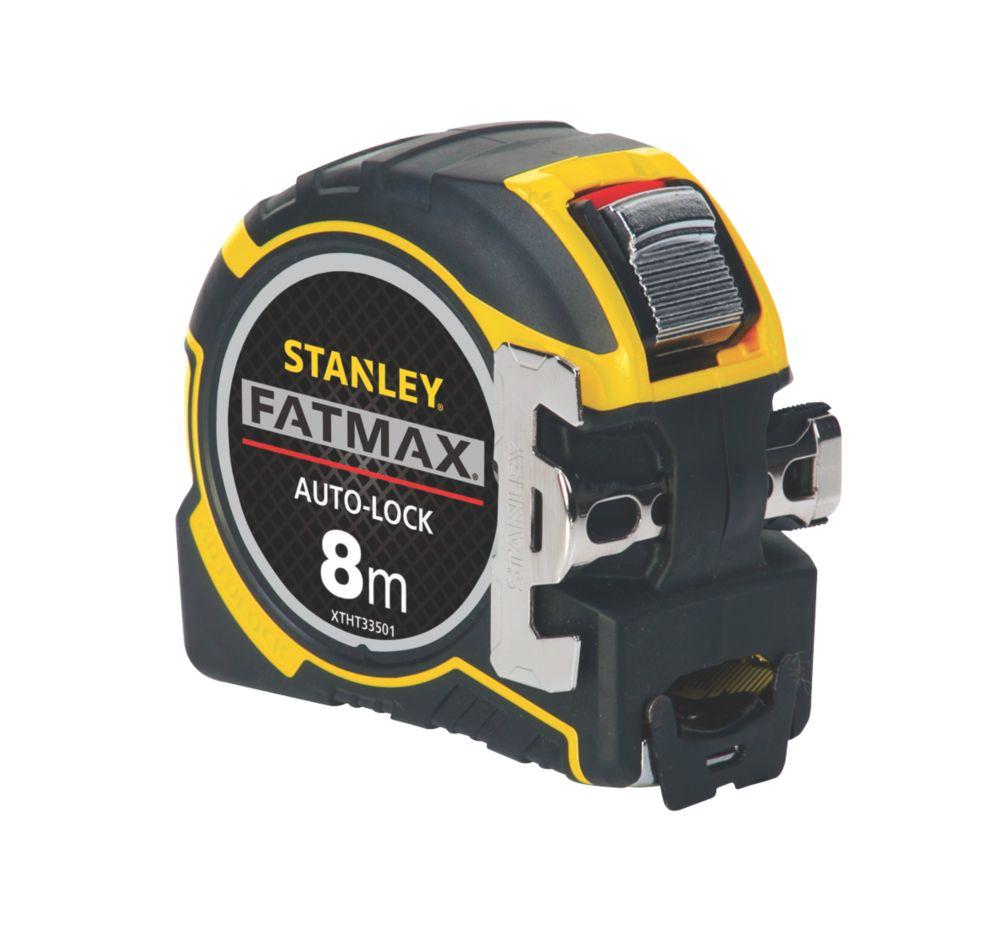 Mètre ruban 8m Stanley FatMax Autolock