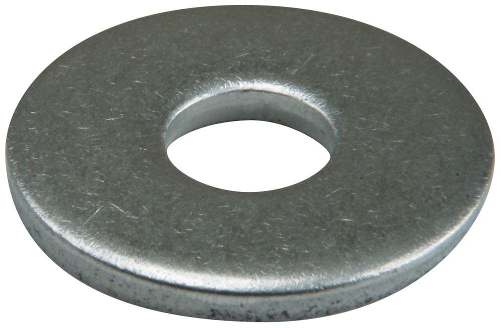 50rondelles plates larges en acier inoxydable A2 Easyfix M12 x3mm