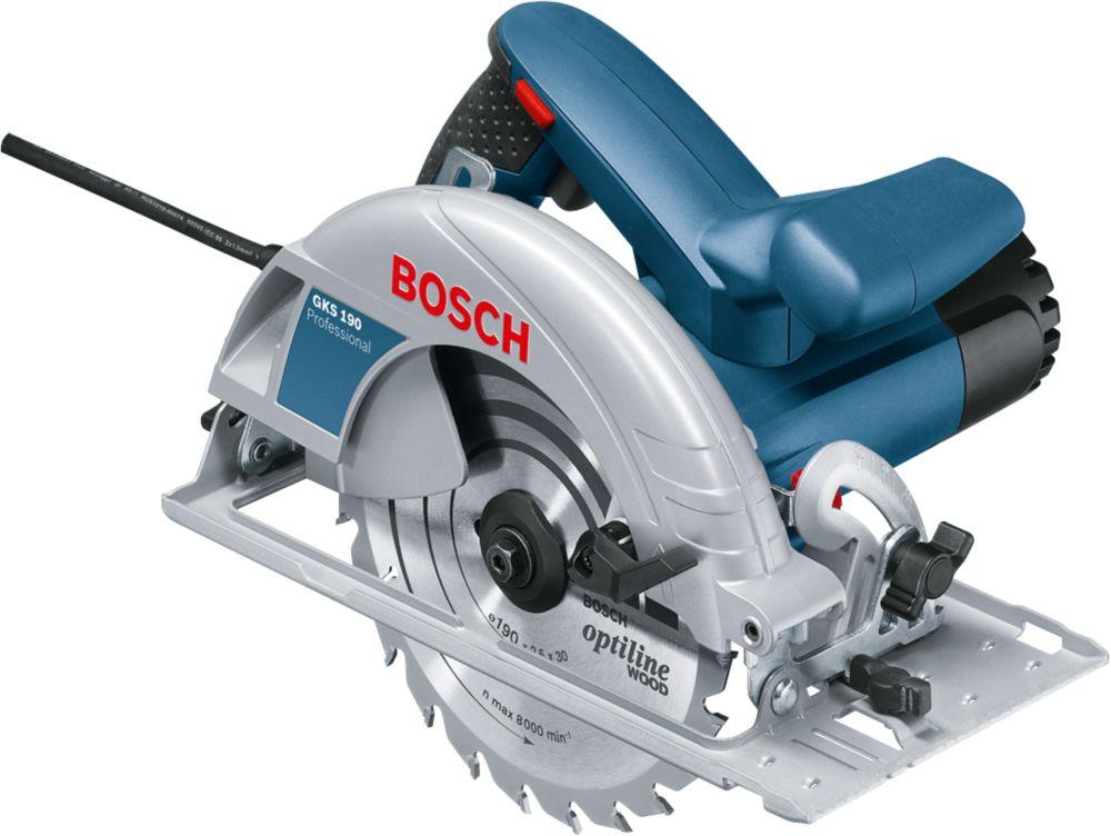 Scie circulaire Bosch bleu GKS190 70 mm