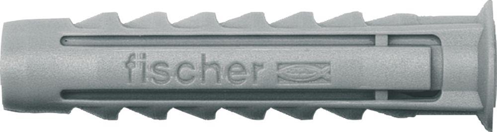 100chevilles Fischer en nylon SX 8mm