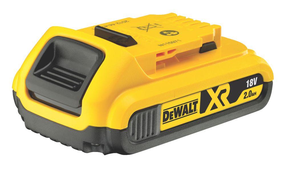 Batterie à glissière DeWalt XR DCB183-XJ 18V 2,0Ah Li-ion