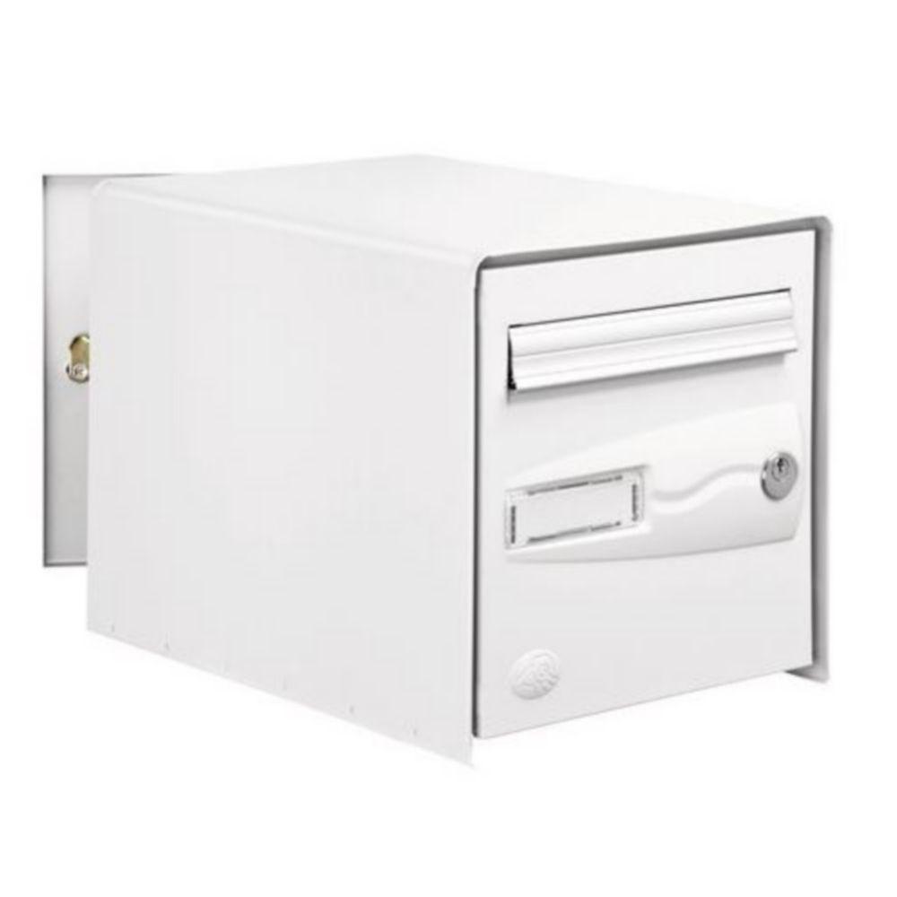 Boîte aux lettres 2 portes Decayeux Oceanis Gris Ral 7021