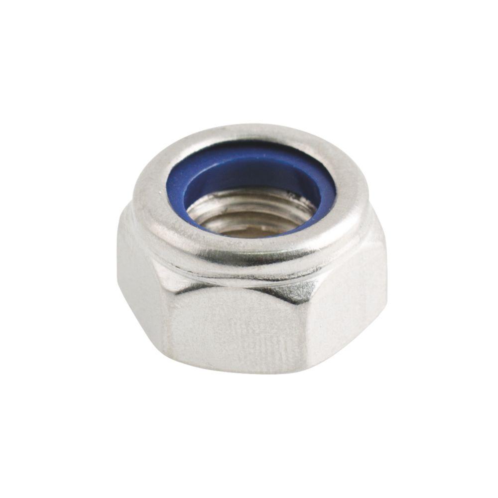 100contre-écrous en nylon et acier inoxydable A2 Easyfix M12
