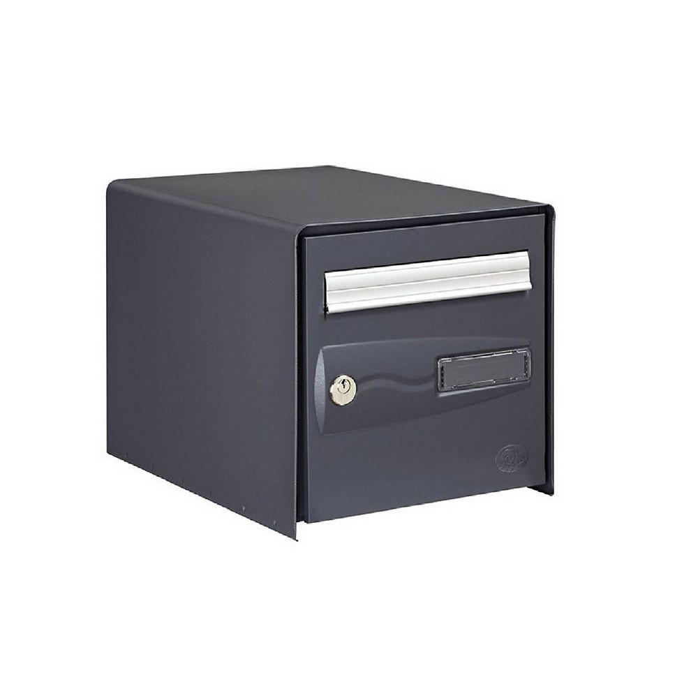 Boîte aux lettres 1 porte Decayeux Oceanis Gris Ral 7016