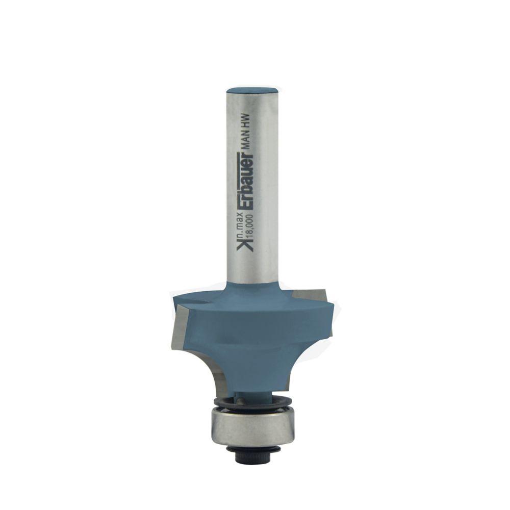 Fraise de défonceuse 1/4 de rond Erbauer ø 28.5 x l.8 mm
