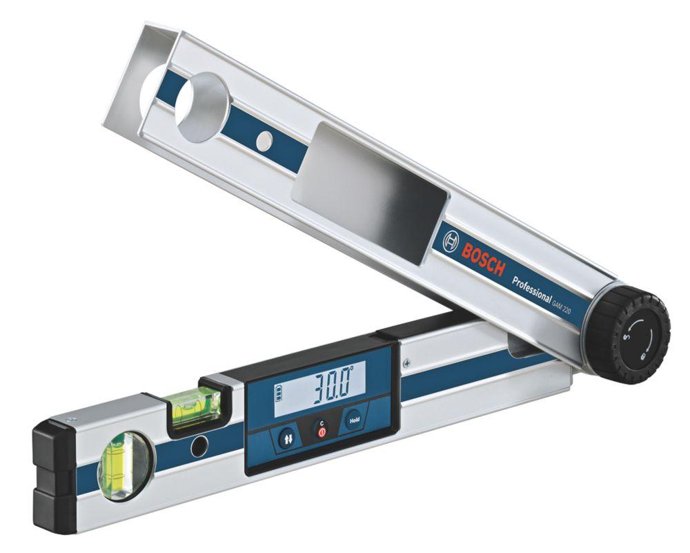 Rapporteur d'angle numérique GAM220 Bosch