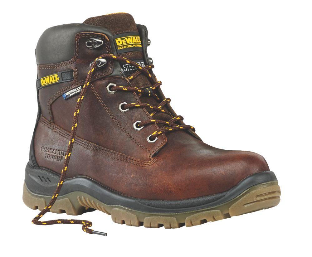 Chaussures de sécurité DeWalt Titanium havane taille 44