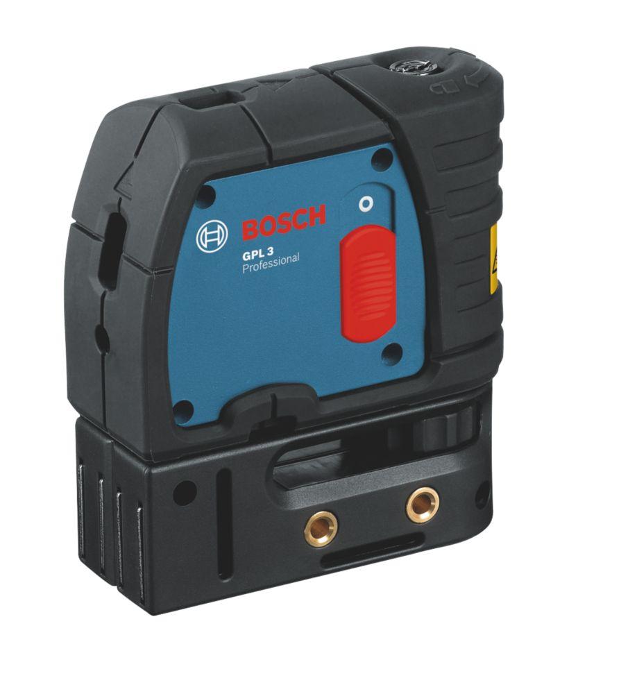 Niveau laser à 3points à mise à niveau automatique rouge GPL3 Bosch