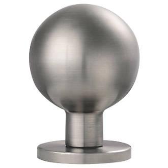 Paire de poignées à mortaise pour meubles Eurospec en acier inoxydable satiné 54mm