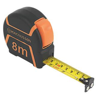 Mètre ruban Magnusson 8m