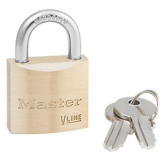 Cadenas en laiton Master Lock 4130 VLine 30mm