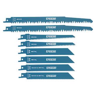 Jeu de lames de scie égoïne Erbauer 150-240mm, 8pièces