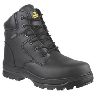 Chaussures de sécurité montantes sans métal Amblers FS006C noires taille37