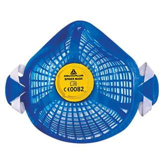 Masque antipoussière réutilisable Delta Plus Spider Mask avec 5filtres P2