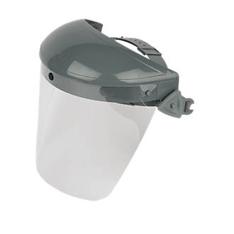 Protection frontale JSP gris/transparent