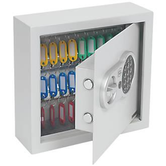 Armoire à clés coffre-fort à combinaison électronique à 30crochets Smith & Locke