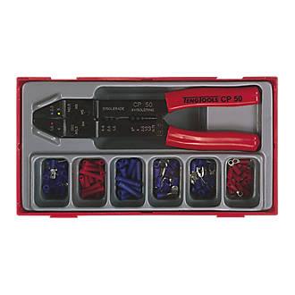 """Kit d'outil de sertissage et cosses Teng Tools 9"""" (230mm)"""