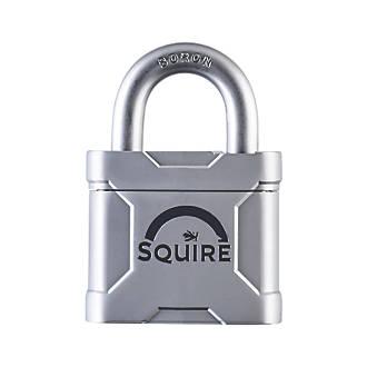 Cadenas résistant aux intempéries à clé commune en acier moulé MERC45KA Squire 49mm