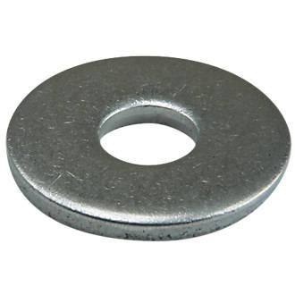 50rondelles plates larges en acier inoxydable A2 Easyfix M6 x1,6mm