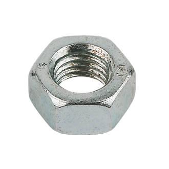 50écrous hexagonaux en acier zingué brillant Easyfix M16