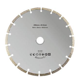 Disque diamant discontinu 230x22,2mm