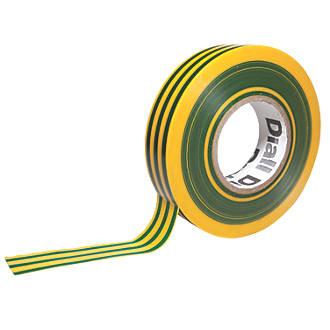 Ruban isolant510 Diall vert/jaune 33m x19mm
