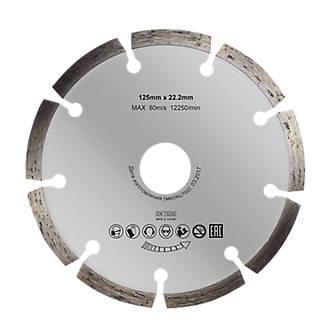 Disque diamant discontinu 125x22,2mm