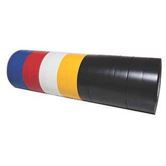 Assortiment de 14rubans isolants510 Diall 33m x19mm