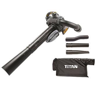 Aspirateur souffleur thermique 2temps Titan TTL684 BVC 27,6cm³