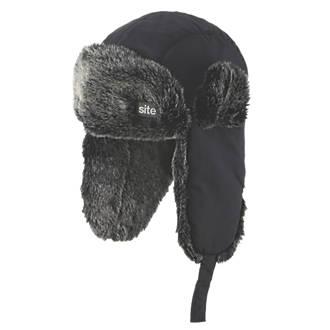 Bonnet de trappeur Site noir