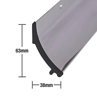 Déflecteur de pluie Stormguard en aluminium poli 914mm