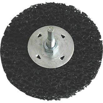 Roue de préparation de surface à broche avec mandrin, 100mm