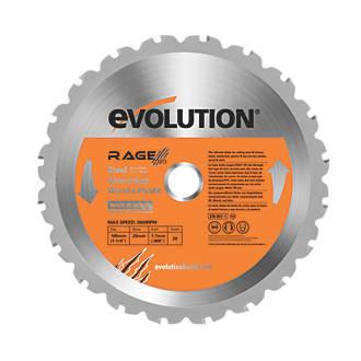 Lame de scie circulaire 20dents Evolution 185 x 20mm