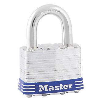 Cadenas étanche en acier laminé Master Lock 1EURD 44mm