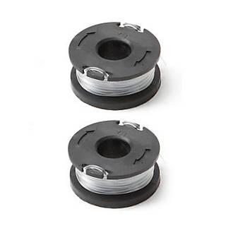 Lot 2 bobines pour coupe-bordures Mac Allister 18V