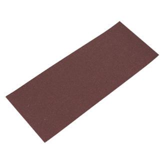 Lot de 10feuilles abrasives perforées Flexovit ⅓ 230 x 93mm grain80