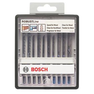Jeu de lames de scie sauteuse Bosch Robust Line