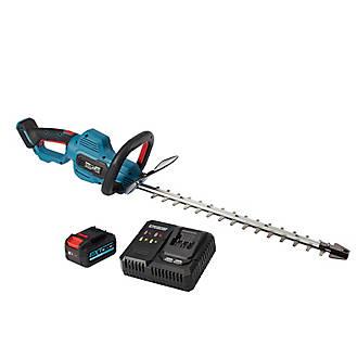 Taille-haie sans fil sur batterie 18V Erbauer 55 cm (avec batterie et chargeur)