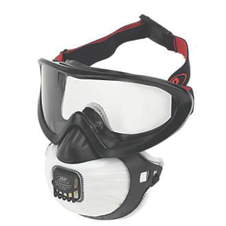 Appareil de protection respiratoire à soupape JSP FilterSpec Pro noir FMP2