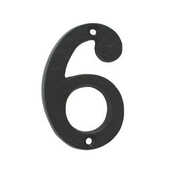 Numéro de porte6/9 Ludlow Carlisle Brass noir antique 78mm