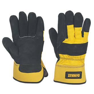 Gants de manutention de haute qualité DeWalt DPG41L EU noir / jaune tailleL